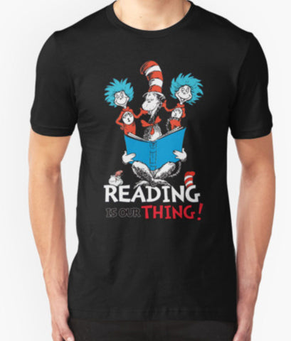 Reading Is Our Thing - America Day 2016 Unisex T-Shirt - Animetee