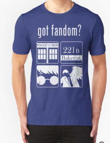 Got Fandom? Unisex T-Shirt - Animetee