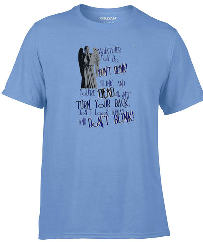 Dr.Who Don't Blink Whatever You do T-Shirt - Animetee - 1