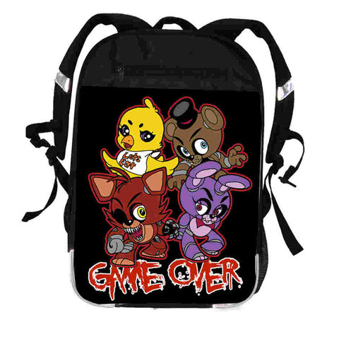 FNAF Backpack Animal Star Women Men Casual Boys Girls Anime Freddy Chica Foxy School Bags Hip Hop Male Laptop Mochila Bolsa ZIRUN ZQLI Store 10