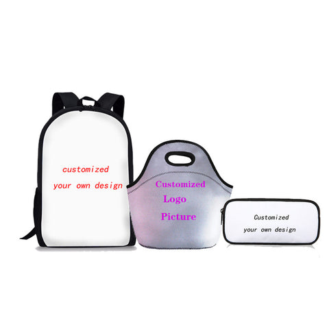 5d36717b6a3 FORUDESIGNS Africa Pattern 3 Pcs set Schoolbag For Teenager Girls Boys  School Backpack Primary and