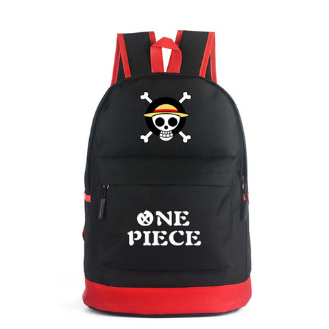 FVIP Anime Backpack Attack On Titans/ Naruto/ One Piece/ Umaru/ Eva Backpacks Kids School Bag for Teenage FVIP Store 1