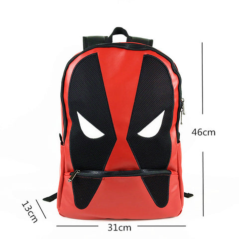 FVIP Anime Backpack Deadpool Print Backpacks Students Travel Bag Schoolbag Children Bags FVIP Store 1