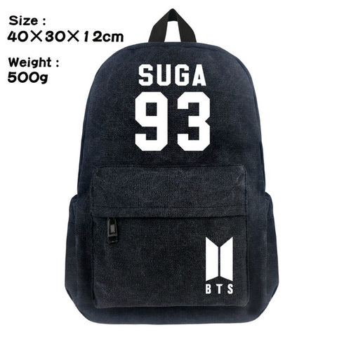 FVIP Bangtan Boys BTS Korea Backpack Teenager Student School Bags Travel Back Pack FVIP Store 1