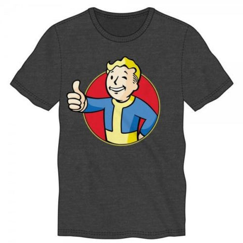 Officially Licensed Fallout Vault Boy Officially Licensed Adult T-Shirt - Animetee