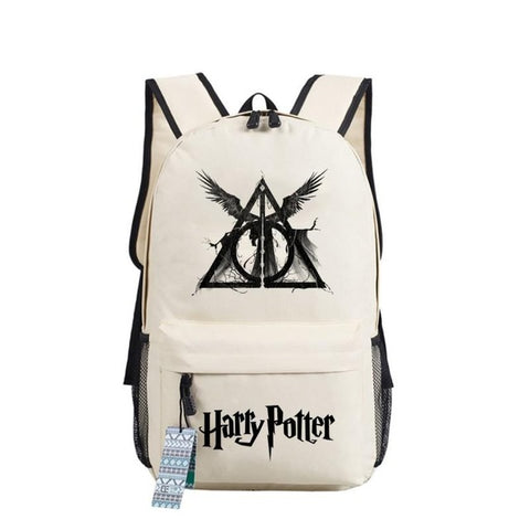 Fashion Harry Potter Hogwarts Backpack men women Children book Bag Students School Bags Travel Shoulder Bag for teenagers Shop2882156 Store 1