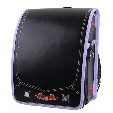 Fashion Pretty Japanese School Bag Pretty Children PU Bookbag for Girls and Boys Orthopedic Randoseru School Backpack Kids QueenScus Store 1