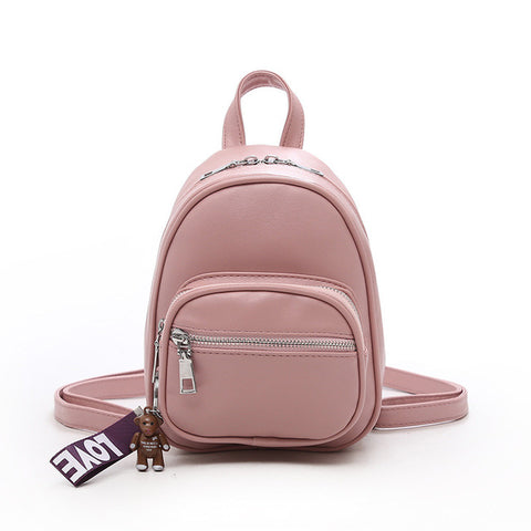 dfa417781750 Fashion Women Backpack Simple All Match Multifunctional Backpack New Mini  Lovely Pendant Student Backpack Yinos Store