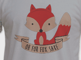 Oh For Fox Sake Tee T-Shirt Shirt - Animetee - 1