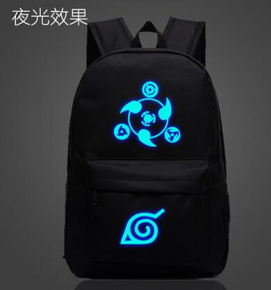 Free shipping Naruto Backpack Japan Anime Printing School Bag for Teenagers Cartoon Travel Rucksack Nylon Mochila Galaxia DIDI Store 1