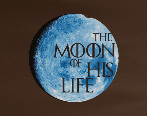The moon of his life Blue Game of Thrones Tee T-Shirt - Animetee - 2