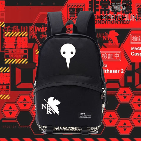 Game anime concept nylon backpacks EVA anime backpack NEON GENESIS EVANGELION fans gift EVA props BACKPACKS NB192 MENGHUN Anime Store 1