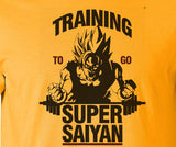 Dragon Ball Dragonball Z Training to be Super Saiyan T-Shirt - Animetee - 1