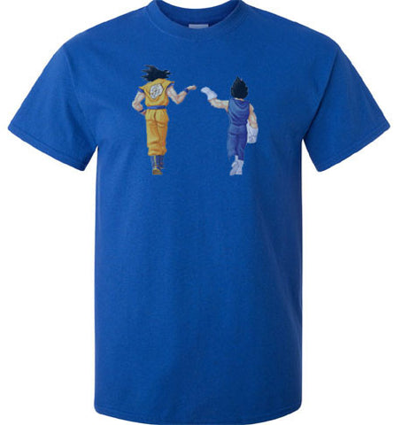 Dragon Ball Dragonball Z Goku Father Son Pound it Dab on em T-Shirt - Animetee - 1