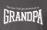 Trendy Pop Culture Hotter Topic Best Dad get promoted to Grandpa t-shirt tshirt Unisex Toddler Ladies All Sizes - Animetee - 2