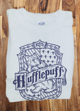 Trendy Pop Culture Harry Potter Hufflepuff Quidditch est 1050 College Style tee t-shirt tshirt Toddler Youth Adult Unisex Ladies Female - Animetee - 1