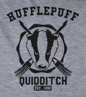 Trendy Pop Culture Harry Potter Hufflepuff Quidditch Established 1050 t-shirt tshirt Toddler Youth Adult Unisex Ladies Female Tee - Animetee - 2