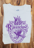 Trendy Pop Culture Harry Potter Ravenclaw Quidditch est 1050 College Style tee t-shirt tshirt Toddler Youth Adult Unisex Ladies Female White - Animetee - 1
