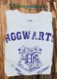 Bluep Trendy Pop Culture Harry Potter Hogwarts Alumni University College Style tee t-shirt tshirt Toddler Youth Adult Unisex Ladies Female White - Animetee - 1