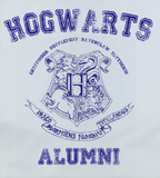 Bluep Trendy Pop Culture Harry Potter Hogwarts Alumni University College Style tee t-shirt tshirt Toddler Youth Adult Unisex Ladies Female White - Animetee - 2
