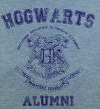 Trendy Pop Culture Harry Potter Hogwarts Alumni College University Style tee t-shirt tshirt Toddler Youth Adult Unisex Ladies Female Gray - Animetee - 1