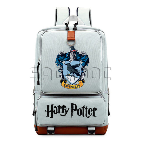 Harry Potter Boys Girls School Bags Canvas Backpack Hogwart Deathly Hallows Students Laptop Backpack for Teenagers Travel Bag Shop3126025 Store 1