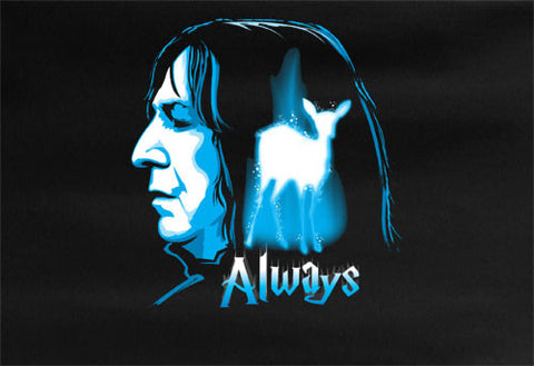 Harry Potter Alan Rickman Severus Snape Tee T-shirt - Animetee - 1