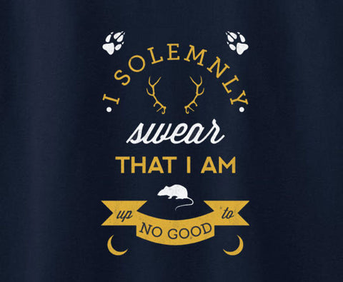 Harry Potter I solemnly swear that i am up to no good Tee T-shirt - Animetee - 1