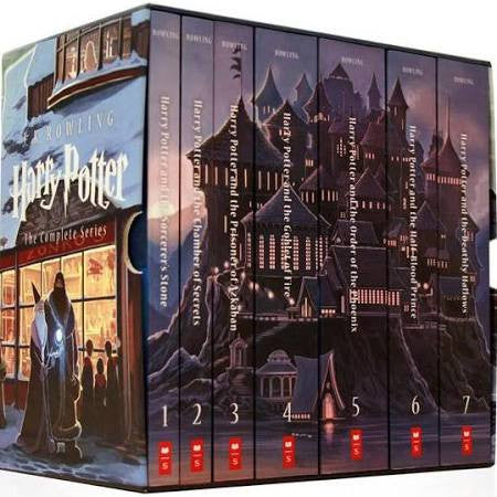 Officially Licensed Harry Potter Paperback Box Set, Books 1-7 [Book] - Animetee