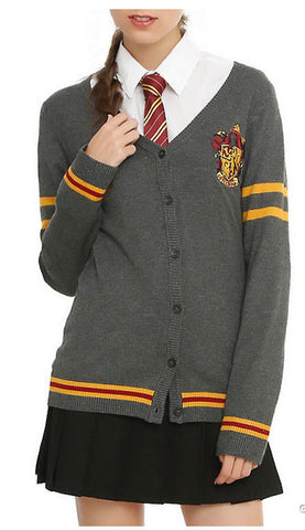 Officially Licensed Harry Potter Gryffindor Cardigan - Animetee