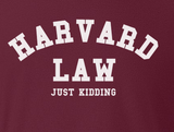 Trendy Pop Culture Harvard Law Just Kidding Ivy League Yale Kale Stanford t-shirt tshirt Unisex Toddler Ladies All Sizes - Animetee - 2