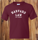 Trendy Pop Culture Harvard Law Just Kidding Ivy League Yale Kale Stanford t-shirt tshirt Unisex Toddler Ladies All Sizes - Animetee - 1