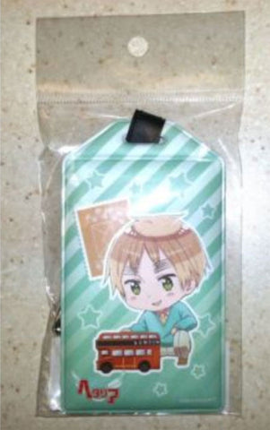 Officially Licensed Hetalia Carry-s Bag Tag/Pass Case Britain Algernon Product Himaruya Licensed New - Animetee
