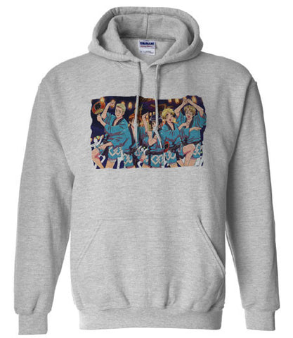Axis powers Hetalia Dancing Hoodie Hooded Sweatshirt - Animetee - 1