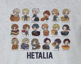 Axis Powers Hetalia Chibi with Food Tee T-Shirt Shirt - Animetee - 1