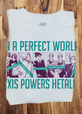 Custom Fanmade Axis Powers Hetalia Italy Swizz Germany T-Shirt Tee Tshirt - Animetee - 1