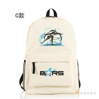 High Q Japanese style Anime BLACK ROCK SHOOTER Backpack large capacity unisex Students BACKPACK Shop1168061 Store 1
