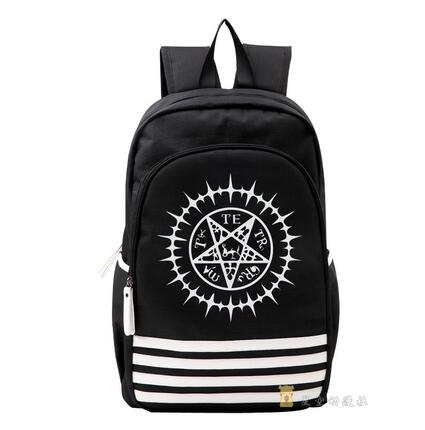 High Q Japanese style Anime Kuroshitsuji Backpack large capacity luminous Students BACKPACK Computer bag Shop1168061 Store 1