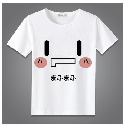 High-Q Unisex Japan Anime Cos nico mafumafu Cotton Casual Preppy Short Sleeve T-Shirt Tee T Shirt Top HOLRAN costume Store 1
