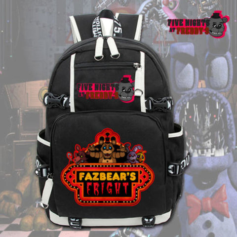 Hot Game Five Nights at Freddy's Backpack Shoulder Bags Cosplay Anime Laptop Knapsack Packsack Travel Study School Bags anime-bar Store 1