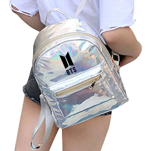 Hot Sale Summer New Fashion Backpacks For Teenager BTS Backpacks For Girl School Bag Laser Backpack Drop Shipping Moodi Falzar Medijums Store 1