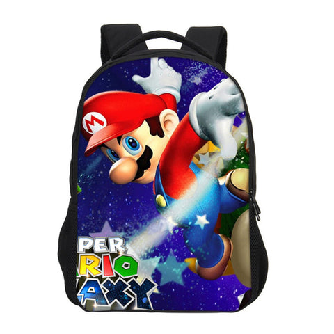 6697e34fc71b Hynes Eagle Backpacks For Boys Girls School Bag Fashion Cartoon Super Mario  Prints 3D Bag Bookbag