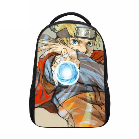 Hynes Eagle Brand Design Naruto Backpack Japan Anime Printing School Bag For Teenagers 3D Cartoon Travel Rucksack Nylon Mochila Hynes Eagle Official Store 1