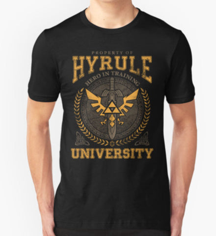 Hyrule University Unisex T-Shirt - Animetee