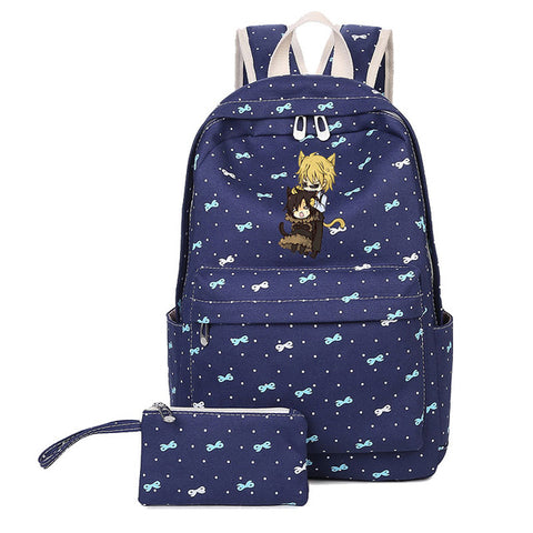 Japan Anime DuRaRaRa!! DRRR bookbag for Teenage Girls boys kids Heiwajima Shizuo Durarara 3way standoff Orihara Izaya Canvas suuman Store 1
