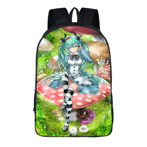 Japan Anime Hatsune Miku Backpacks For Teenagers School Bag Student Backpack 16 Inch 17 style COS BAG MADE Store 1