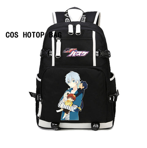 Japan Anime Naruto backpack Mochila canvas Backpack For Boy/Girl School Bags student Laptop bag men women backpack 27 style COSPLAY81888 Store 1