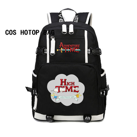 Japan anime Adventure Time Finn and Jake backpack Teenage Backpacks Student School Bag women men Laptop Backpack Travel 10 style COSPLAY81888 Store 1