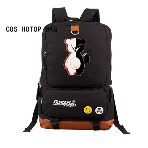 Japan anime Danganronpa Backpack Students School Book Bag School Backpack Cosplay Shoulder Bag teenagers Travel Bags 7 style COSPLAY81888 Store 1