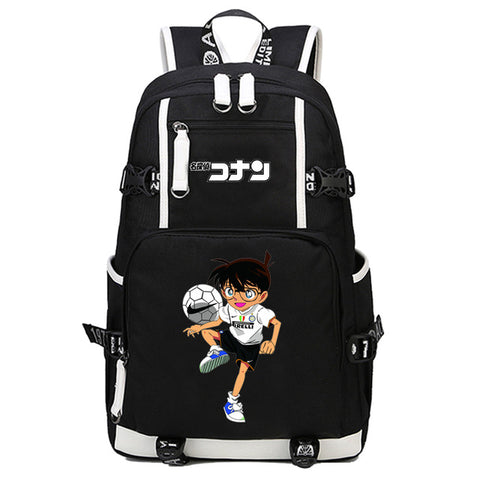 Japan anime Detective Conan Backpack men women student bookBag Travel bag shoulder bag Backpack COS BAG MADE Store 1